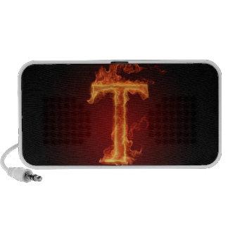 Flame Alphabet Speaker