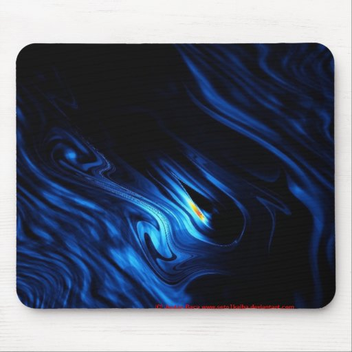 Flame Among The Fathoms Mouse Pads