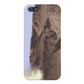 Flame and smoke emerge from the muzzle iPhone SE/5/5s cover
