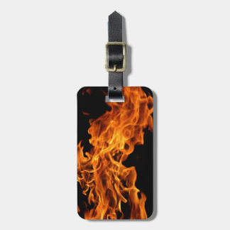 Flame Bag Tag