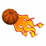 flame basketball photo cutouts