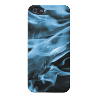 Flame Blue iPhone SE/5/5s Cover