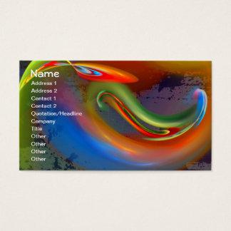 Flame Brago-Mitchell Fine Fractal Art Business Card