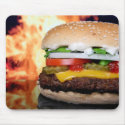 Flame Broiled Mousepad mousepad