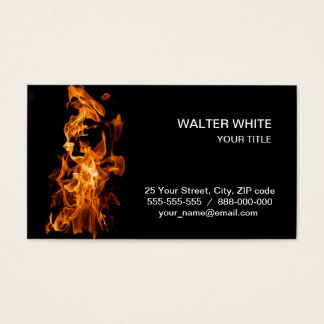 Flame Business Card