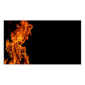 Flame Business Card Templates