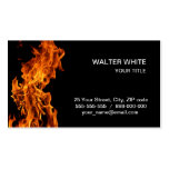 Flame Business Cards