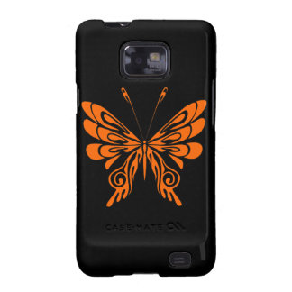 Flame Butterfly Tattoo Samsung Galaxy SII Cases