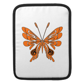 Flame Butterfly Tattoo iPad Sleeves
