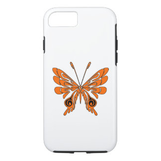 Flame Butterfly Tattoo iPhone 8/7 Case