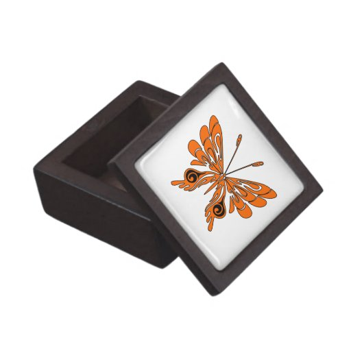 Flame Butterfly Tattoo Premium Gift Box