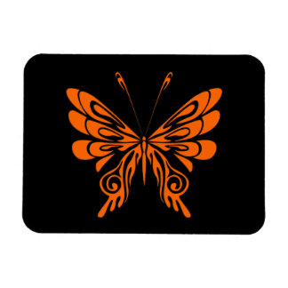 Flame Butterfly Tattoo Flexible Magnets