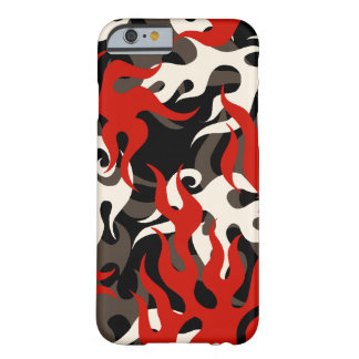 Flame Camo Tattoo Barely There iPhone 6 Case