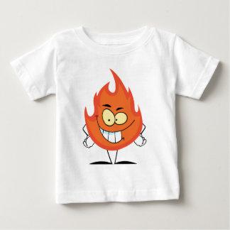 Flame Cartoon Character Infant T-shirt