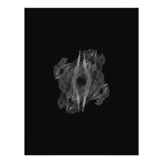 Flame Circle 3 Abstract Digital Black Backgrounds Flyer