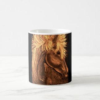 flame classic white coffee mug