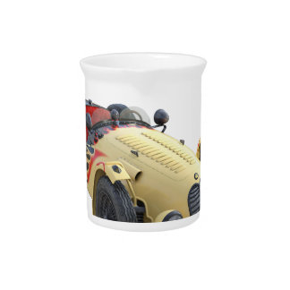 Flame Colored Sports Racer Pitcher