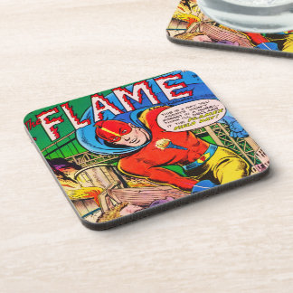Flame comics coaster