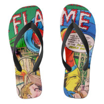 Flame comics flip flops