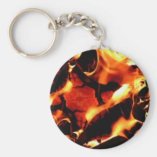 Flame dance keychain