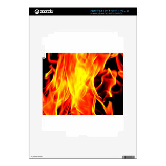 Flame Decal For iPad 3