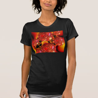 Flame Delights, Abstract Crimson Red Fire Tee Shirt