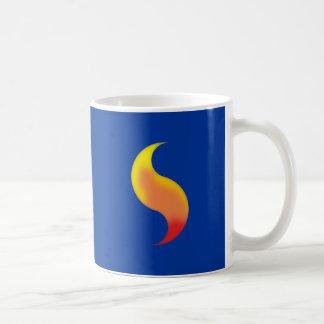 Flame doubles double Fleming Coffee Mug