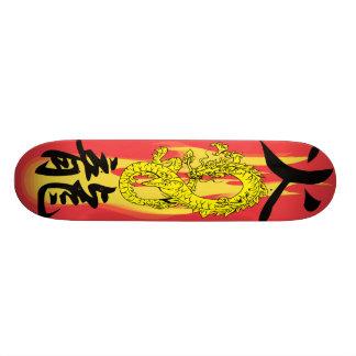 Flame Fire Dragon remix Skateboards