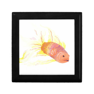 Flame Fish Jewelry Box