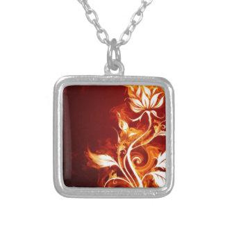 Flame flower 01 pendant