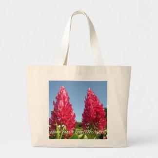 Flame Flowers tote Jumbo Tote Bag