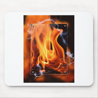 Flame-focus Mouse Pad