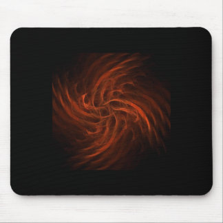 Flame Fractal Mouse Pad
