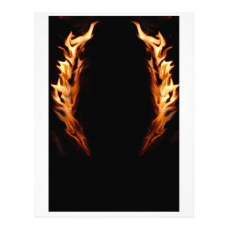 Flame Framed Letterhead