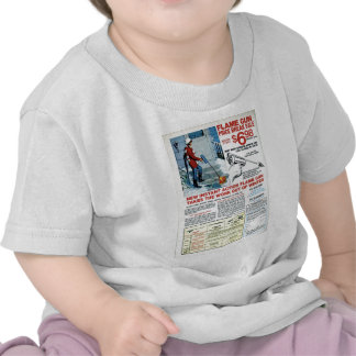 Flame Gun for Winter Tee Shirts