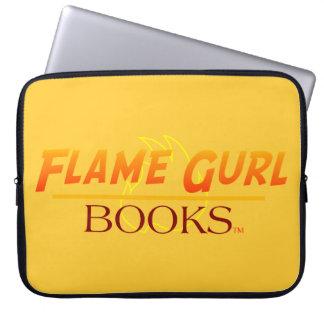 Flame Gurl Books Computer Sleeve