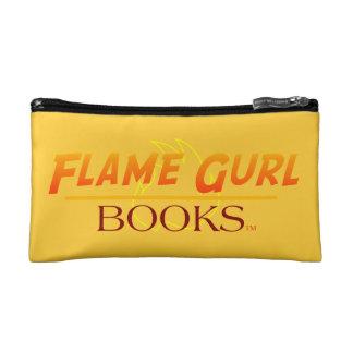 Flame Gurl Books Cosmetic Bag