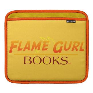 Flame Gurl Books iPad Sleeve