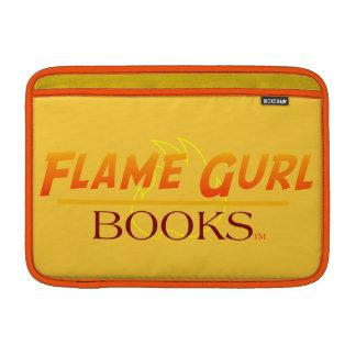 Flame Gurl Books MacBook Sleeve
