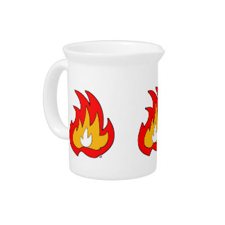 Flame Gurl Flame Drink Pitchers