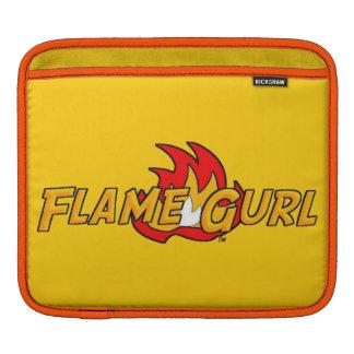 Flame Gurl Logo iPad Sleeve