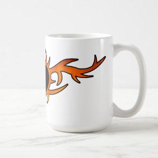 Flame Heart Tattoo Coffee Mug