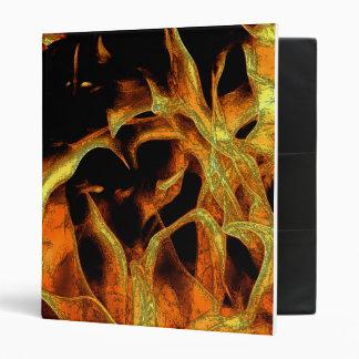 Flame in pencil vinyl binder