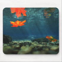 Flame in the Water Mousepad