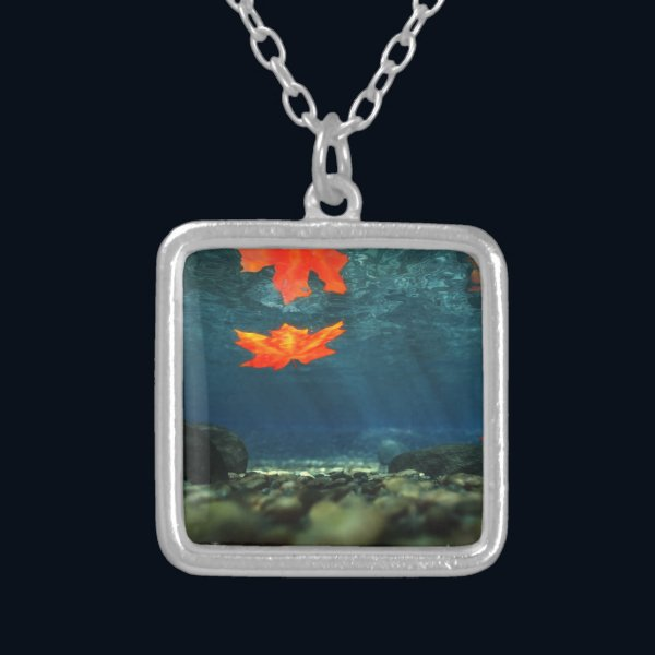 Flame in the Water Necklace