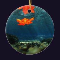 Flame in the Water Ornament