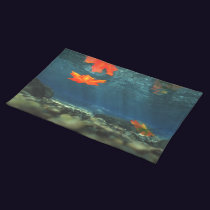 Flame in the Water Placemat