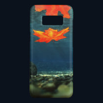 Flame in the Water Samsung Galaxy Case-Mate