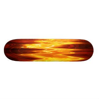 Flame is the Name Fun Cool Funky Skateboard