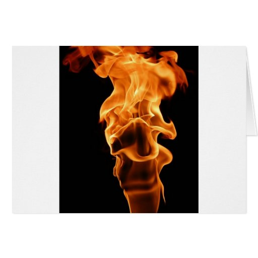 flame it up greeting card